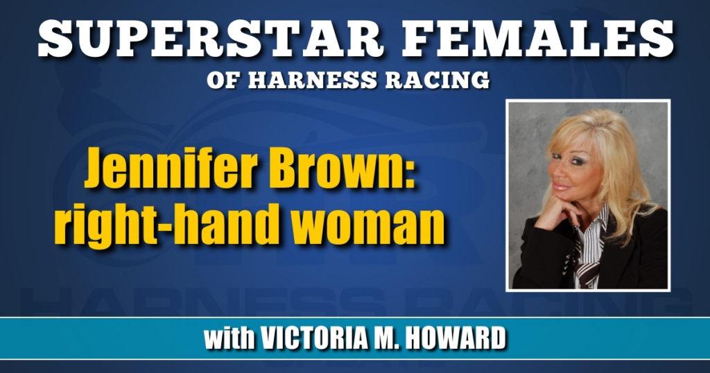 Jennifer Brown: right-hand woman