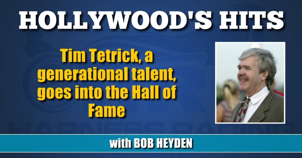 Tim Tetrick, a generational talent, goes into the Hall of Fame