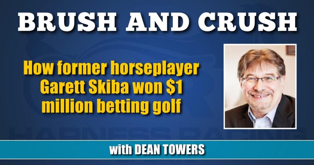 How former horseplayer Garett Skiba won $1 million betting golf