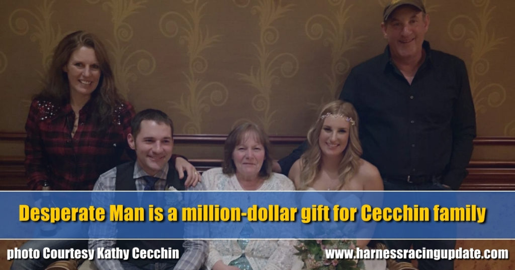 Desperate Man is a million-dollar gift for Cecchin family