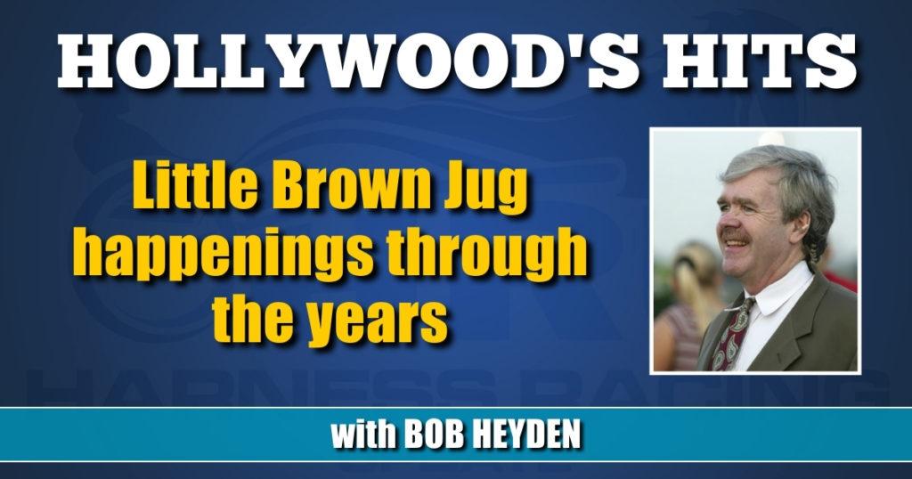 Little Brown Jug happenings through the years