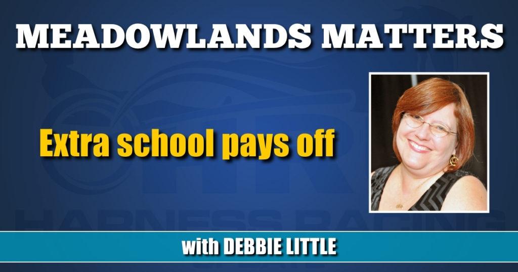 Extra school pays off