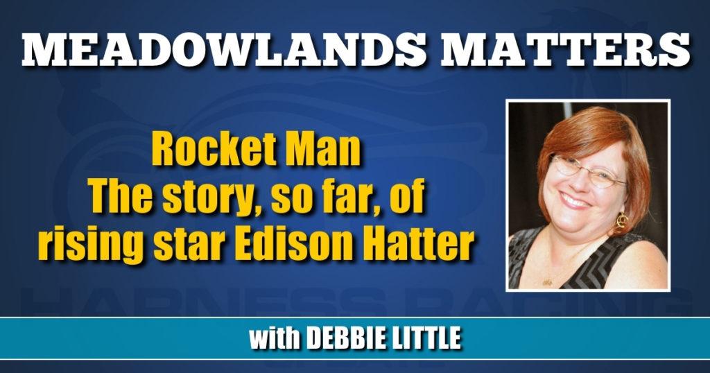 The story, so far, of rising star Edison Hatter