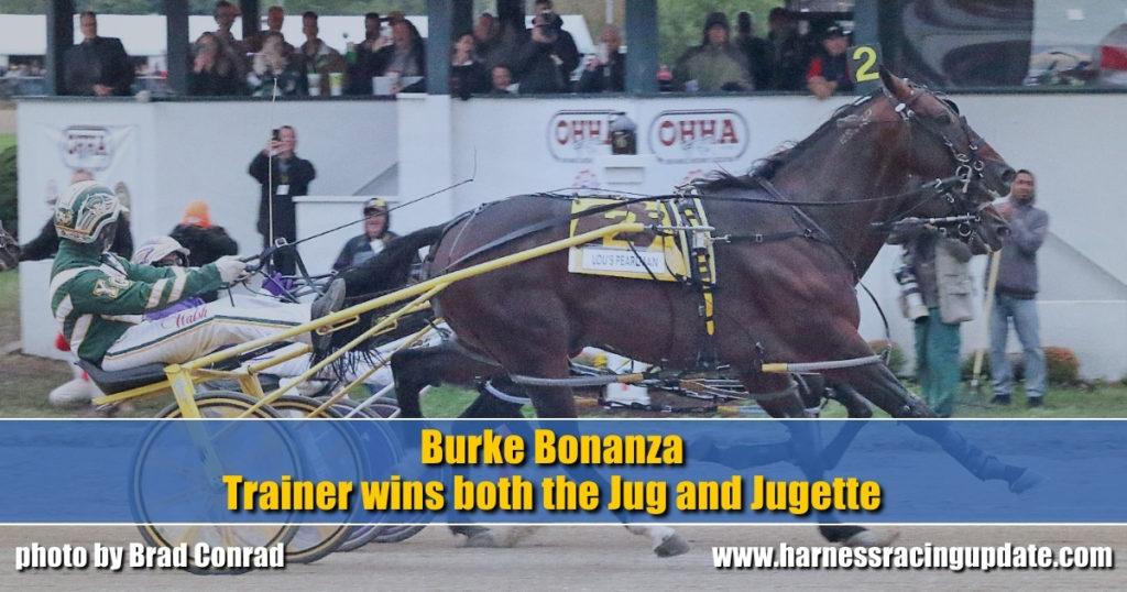 Burke Bonanza Trainer wins both the Jug and Jugette