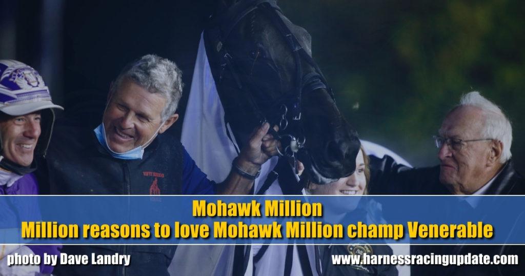 Million reasons to love Mohawk Million champ Venerable