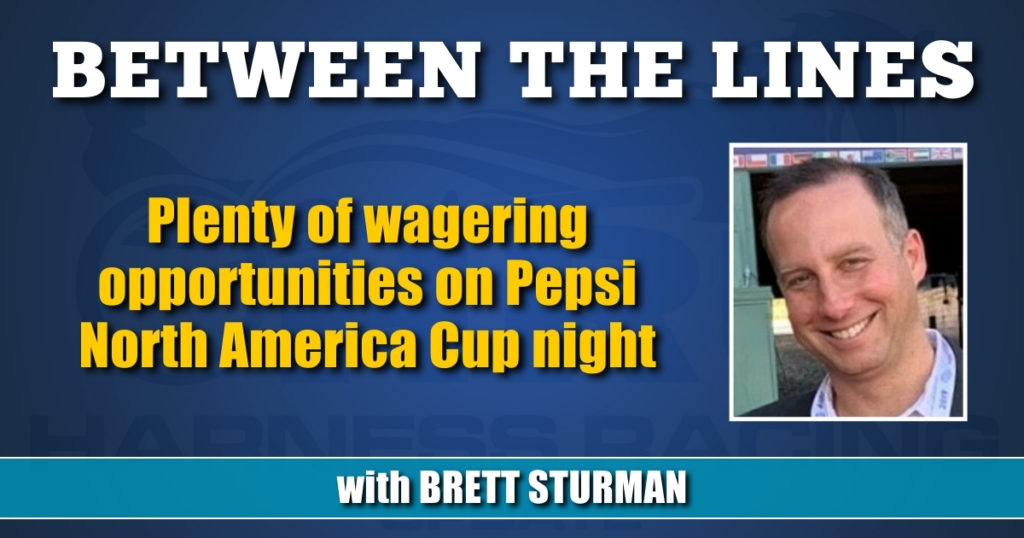Plenty of wagering opportunities on Pepsi North America Cup night