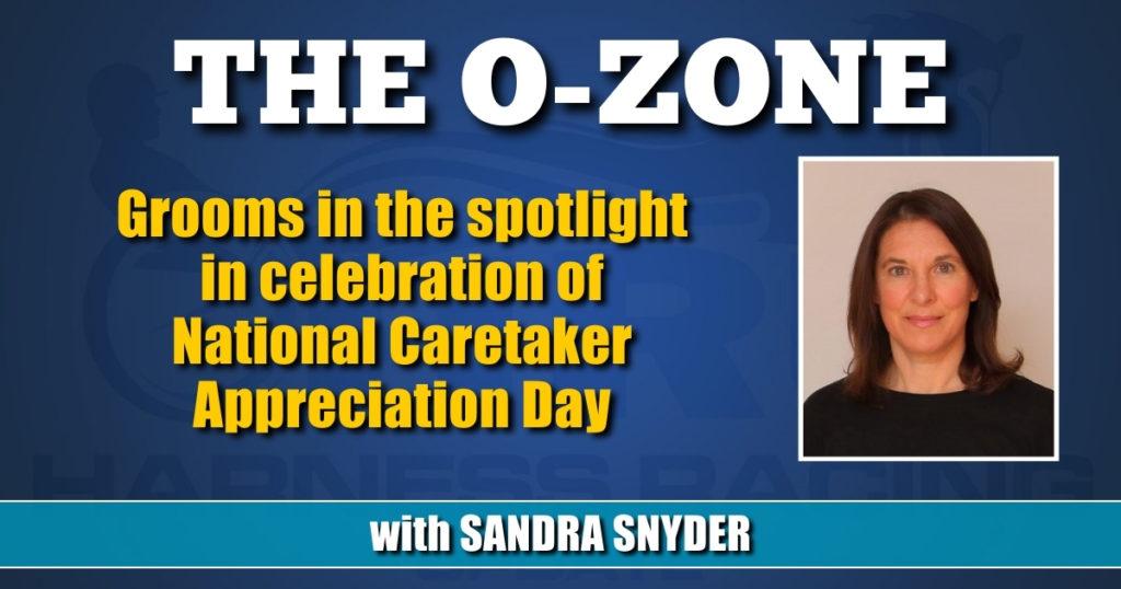 Grooms in the spotlight in celebration of National Caretaker Appreciation Day