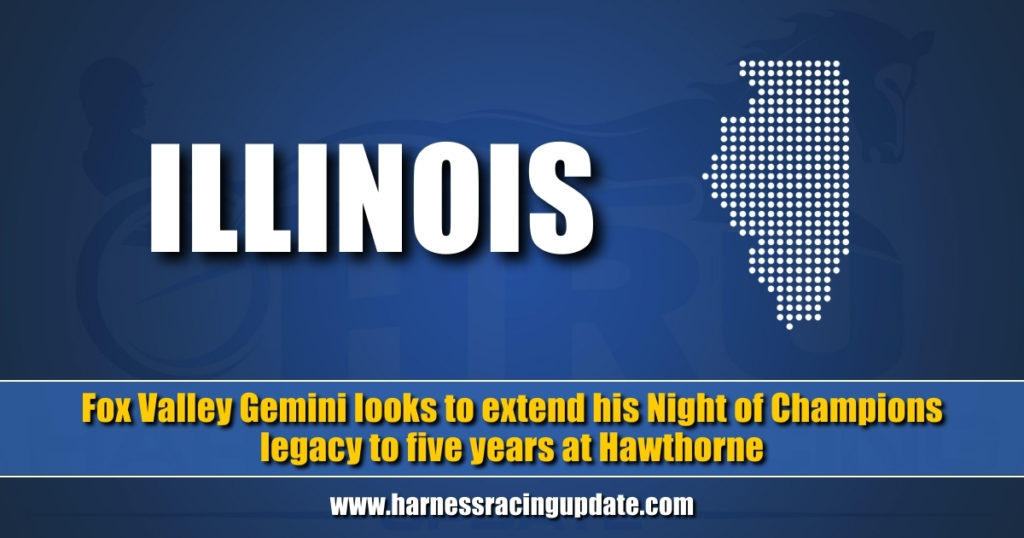 Fox Valley Gemini looks to extend his Night of Champions legacy to five years at Hawthorne