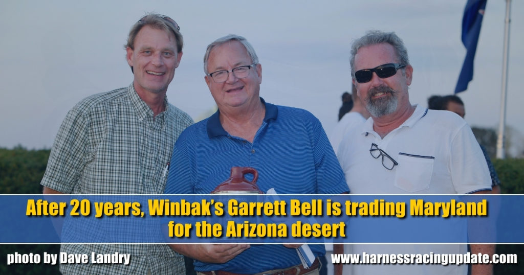 After 20 years, Winbak's Garrett Bell is trading Maryland for the Arizona desert