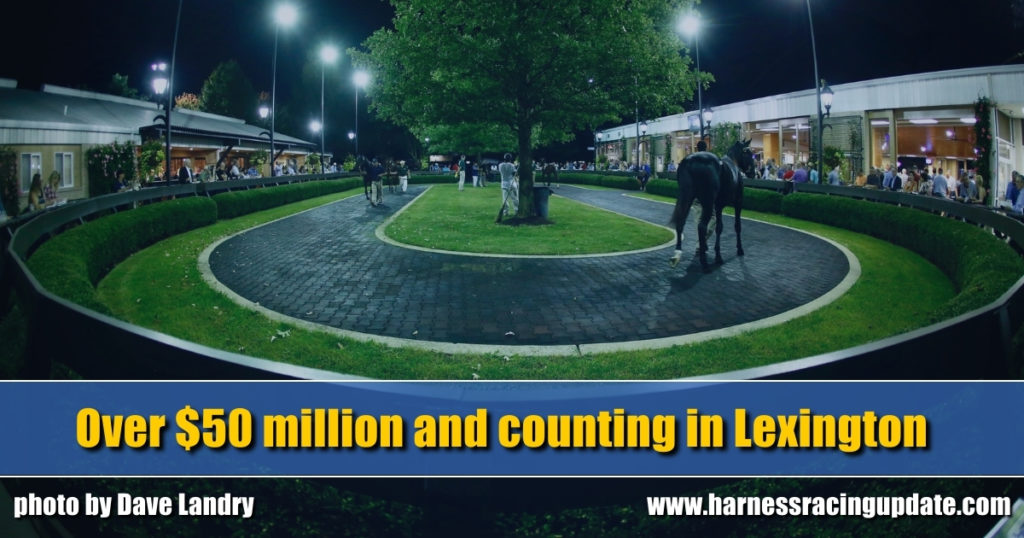 Over $50 million and counting in Lexington