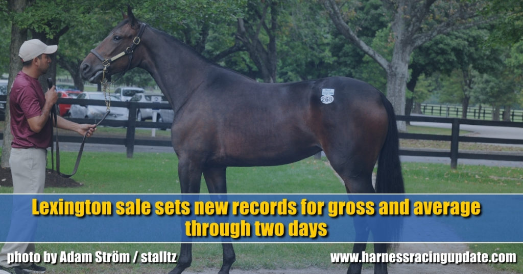 Lexington sale sets new records for gross and average through two days