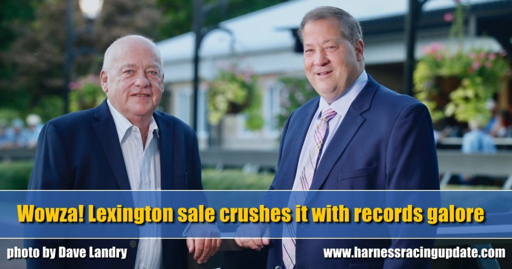 Wowza! Lexington sale crushes it with records galore