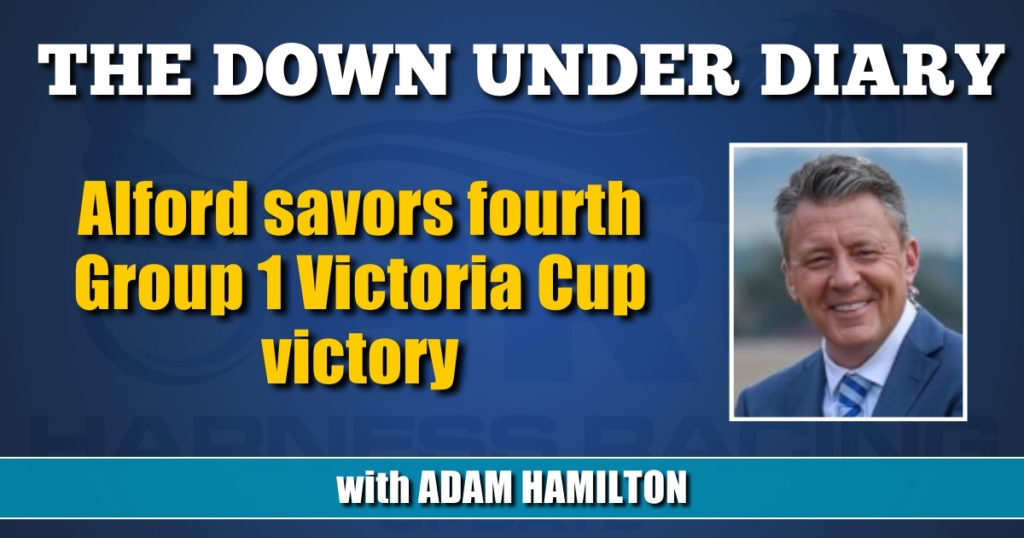 Alford savors fourth Group 1 Victoria Cup victory