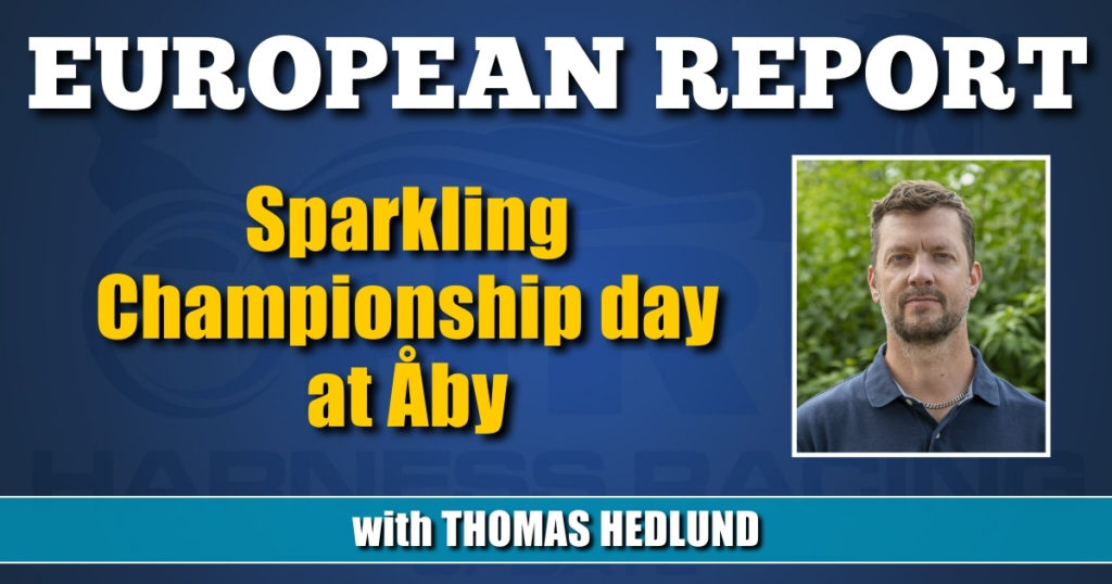 Sparkling Championship day at Åby