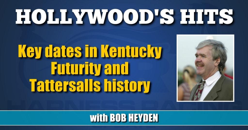 Key dates in Kentucky Futurity and Tattersalls history