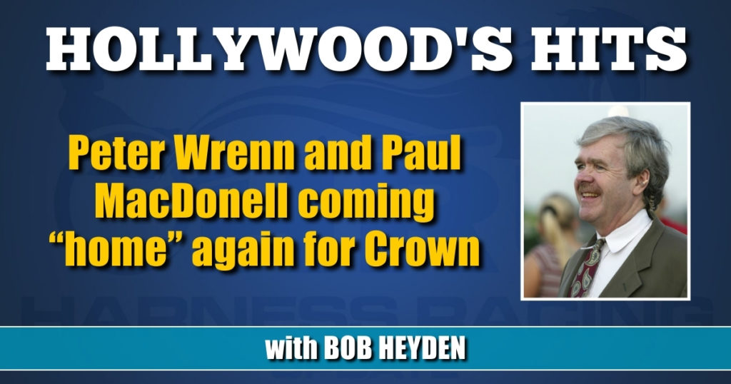 """Peter Wrenn and Paul MacDonell coming """"home"""" again for Crown"""