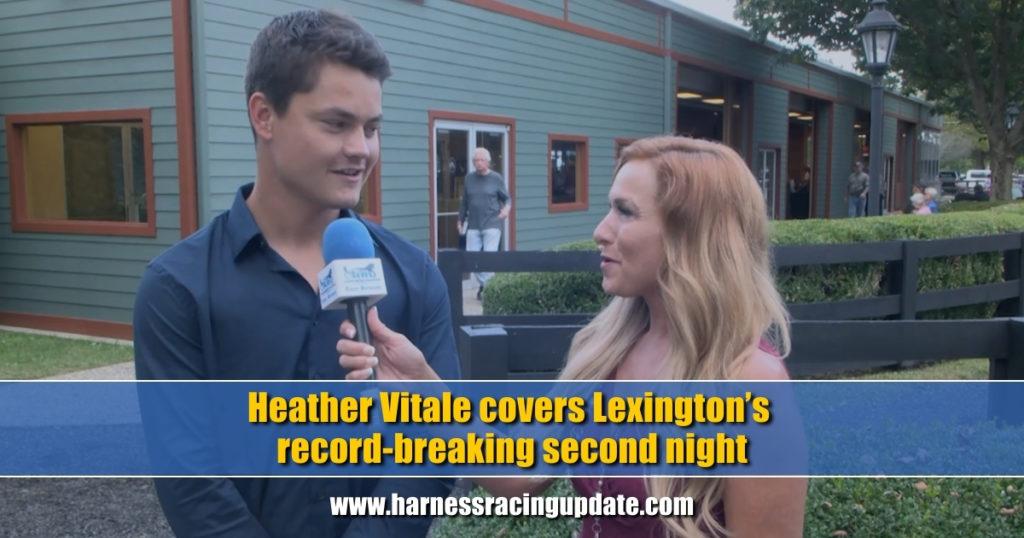 Heather Vitale covers Lexington's record-breaking second night