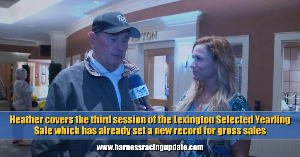 Heather Vitale covers Lexington's third session