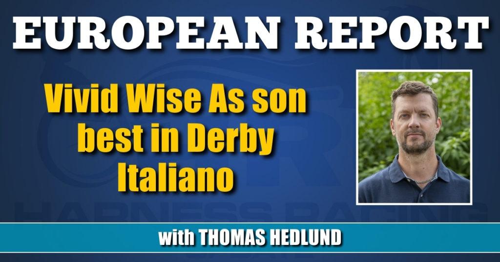 Vivid Wise As son best in Derby Italiano