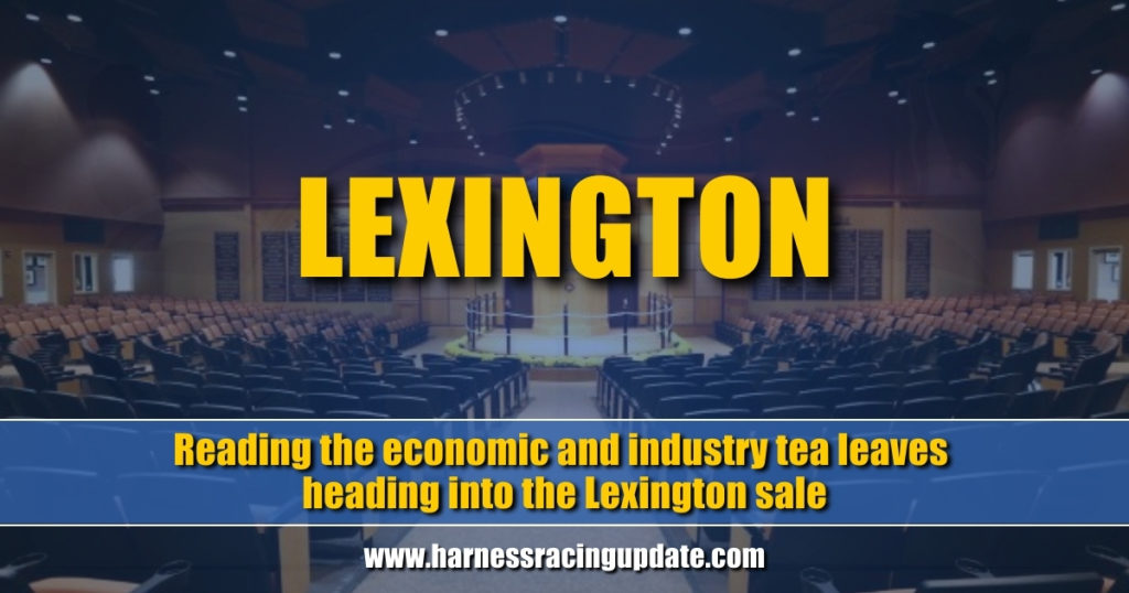Reading the economic and industry tea leaves heading into the Lexington sale